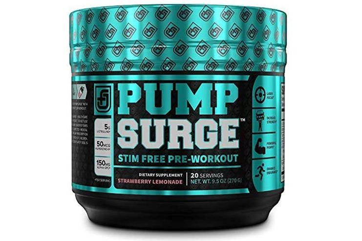 Pumpsurge stim free pre workout
