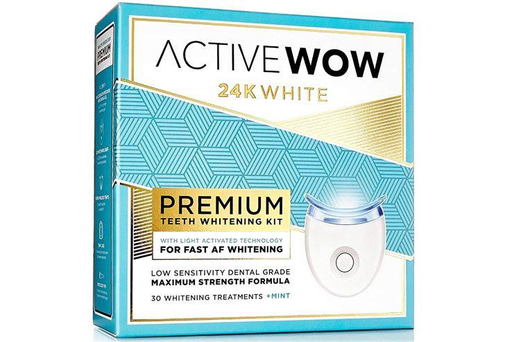 Active Premium Wow Teeth Whitening Kit