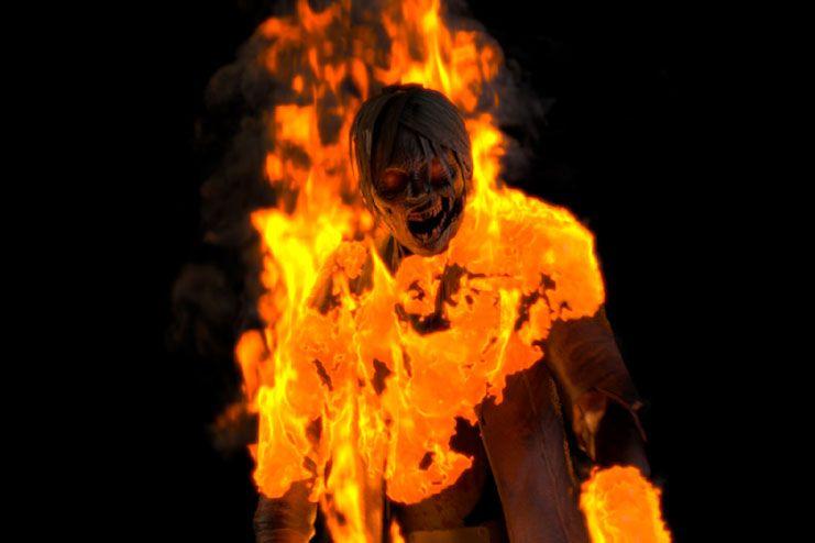 Fire is not a savior