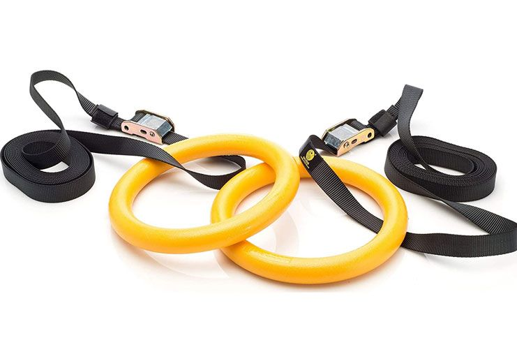 NAYOYA Gymnastic Rings Workout Set