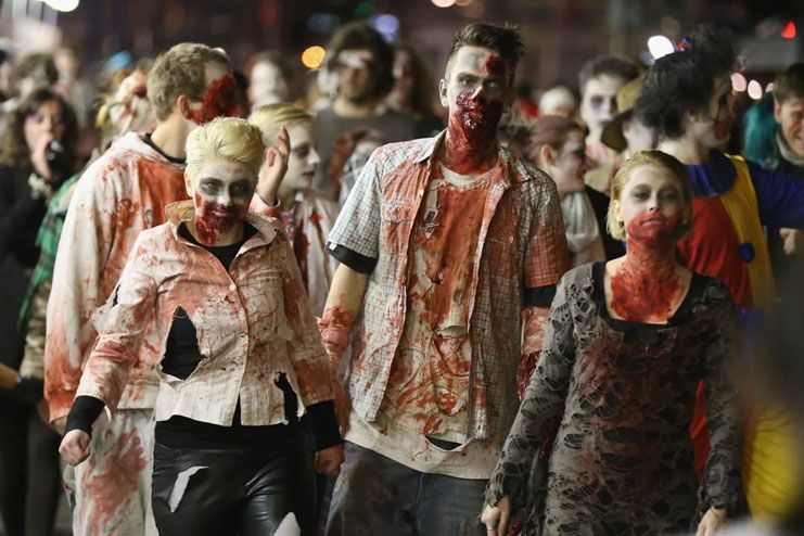 There are many diseases that have similar symptoms like zombie virus