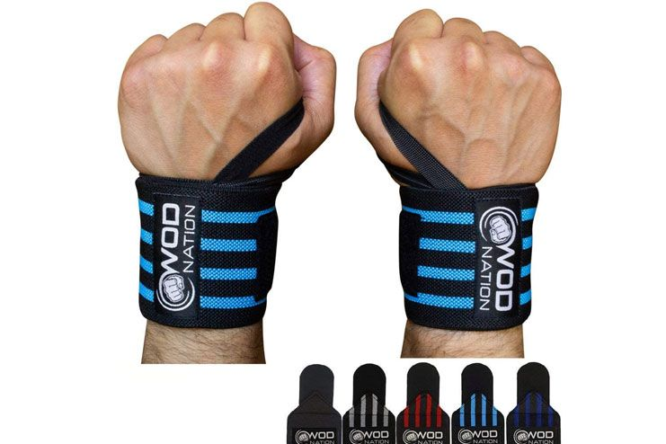 WOD Nation Wrist Wraps Weightlifting for Men Women