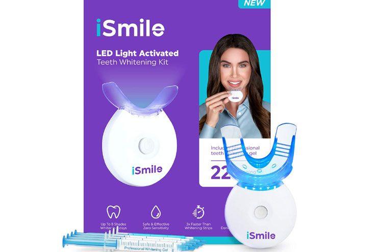 iSmile Teeth Whitening Kit LED Light