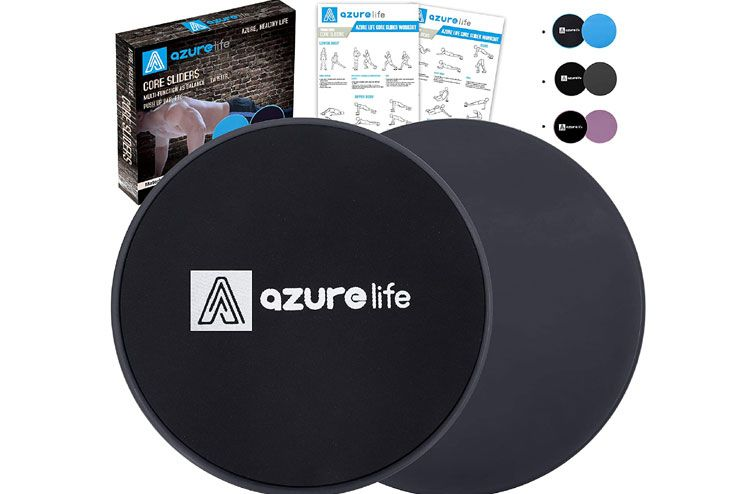 A AZURELIFE Exercise Core Sliders