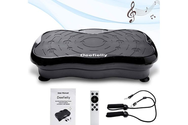 Deefielly Mini Vibration Plate Exercise Machine