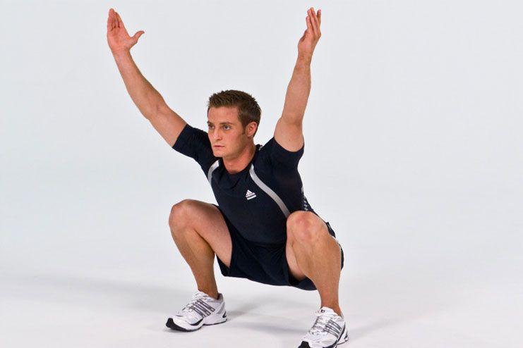 Deep squat pose