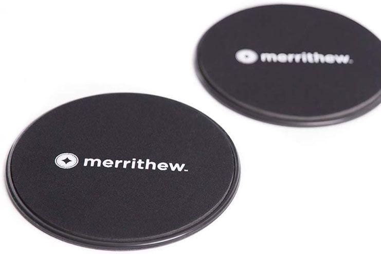 Merrithew Sliding Mobility Disks Black, X-Large