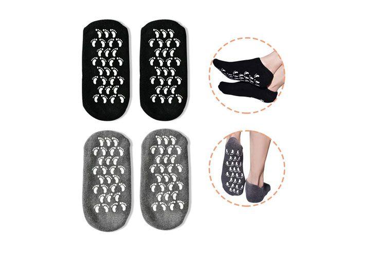 Gel Spa Socks For Repairing and Softening Dry Cracked Feet Skin