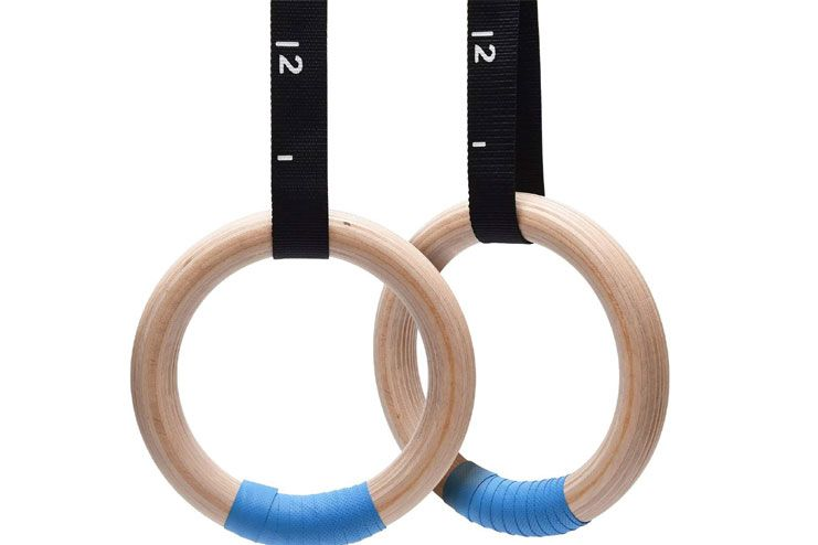 PACEARTH Wooden Gymnastics Rings