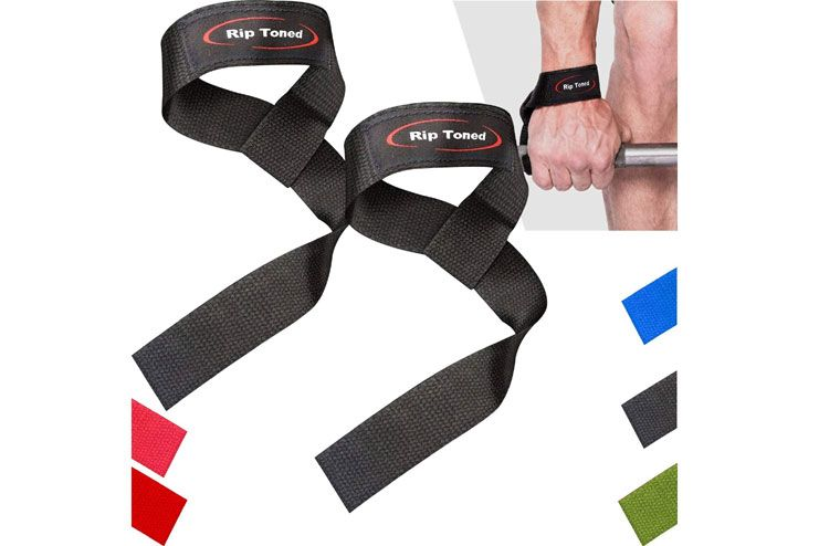 Rip Toned Lifting Straps for Weightlifting