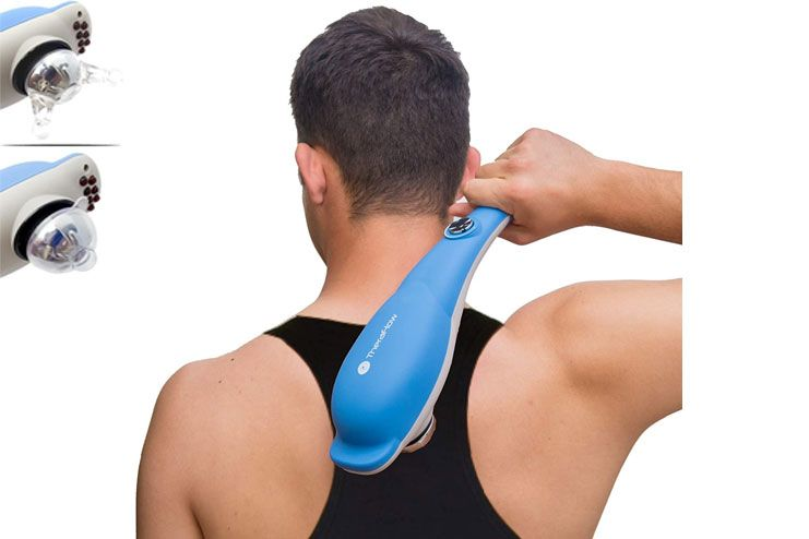 TheraFlow Handheld Massager for Knots