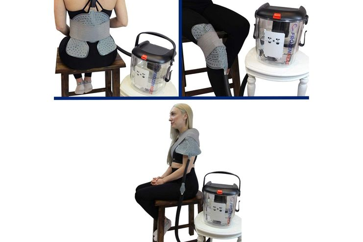 Frozen Heat Therapy Unit for Hot and Cold Cryotherapy Treatment