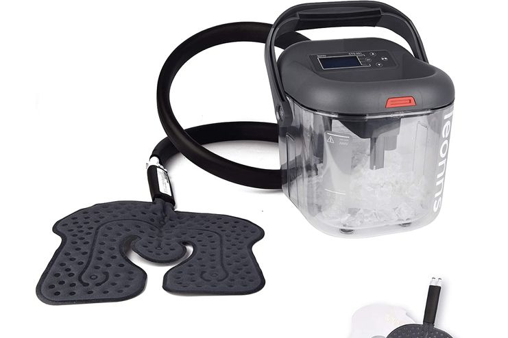 LEONNS Cold Therapy Machine w-Universal Flexible Pad