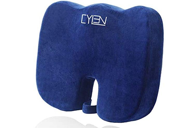 CYLEN-Home-Memory-Foam-Bamboo-Charcoal-Infused-Ventilated-Orthopedic-Seat-Cushion