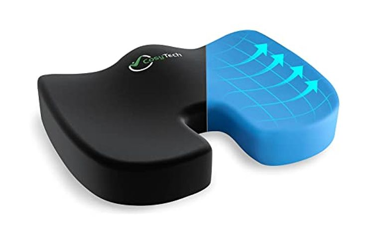 CosyTech-Coccyx-Seat-Cushion-with-Non-Slip-Cover