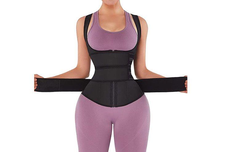 Feelingirl latex waist trainer