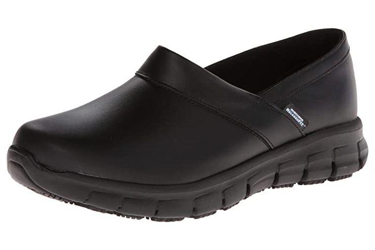 Skechers Relaxed Fit Slip Resistant Work Shoe